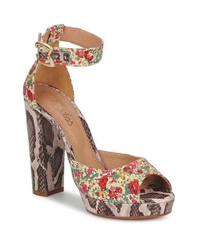 Viacfarebné sandále Maloles