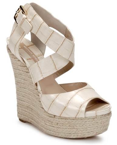 Biele sandále Michael Kors