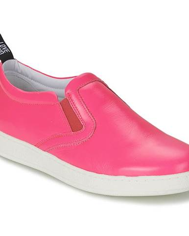 Ružové espadrilky Love Moschino