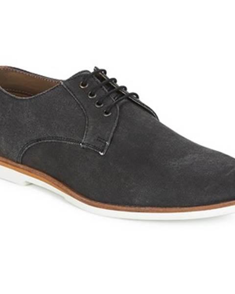 Čierne topánky Frank Wright