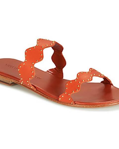 Oranžové sandále Melvin   Hamilton