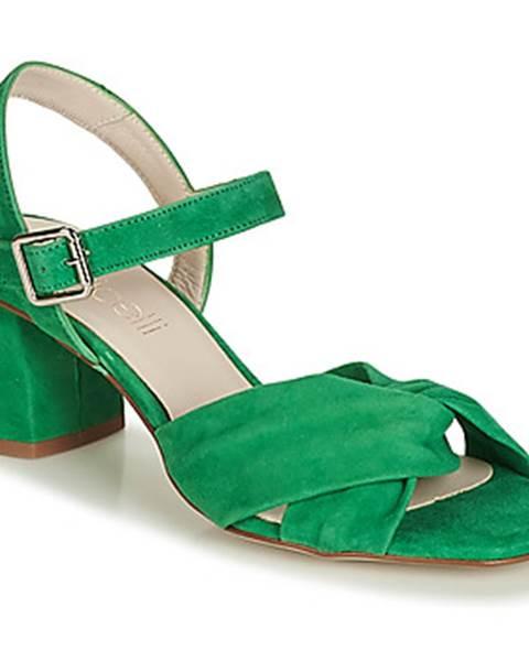 Zelené sandále Fericelli