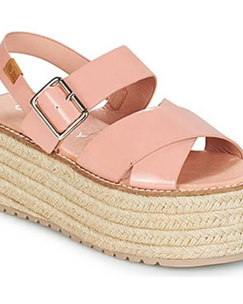 Ružové sandále Coolway