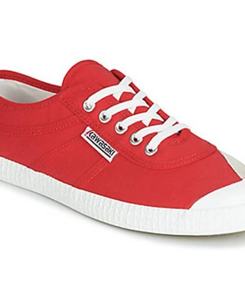 Červené tenisky Kawasaki