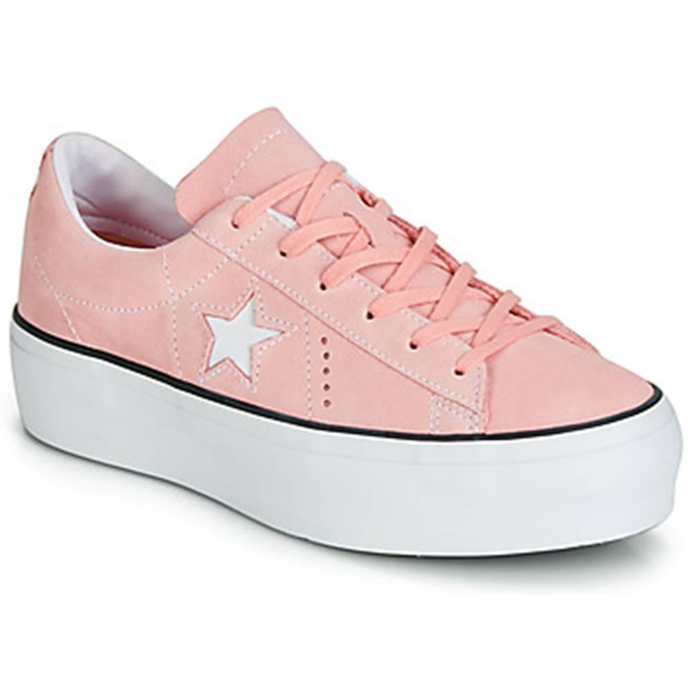 Converse Nízke tenisky Converse  ONE STAR PLATFORM SEASONAL COLOR OX