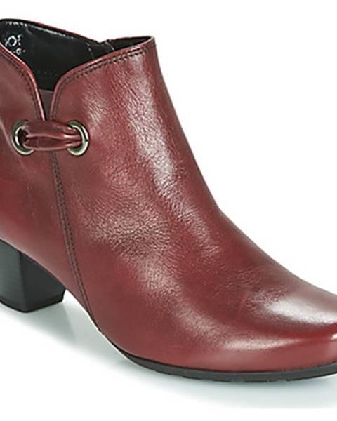 Červené topánky Gabor