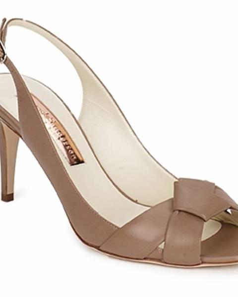 Hnedé sandále Rupert Sanderson