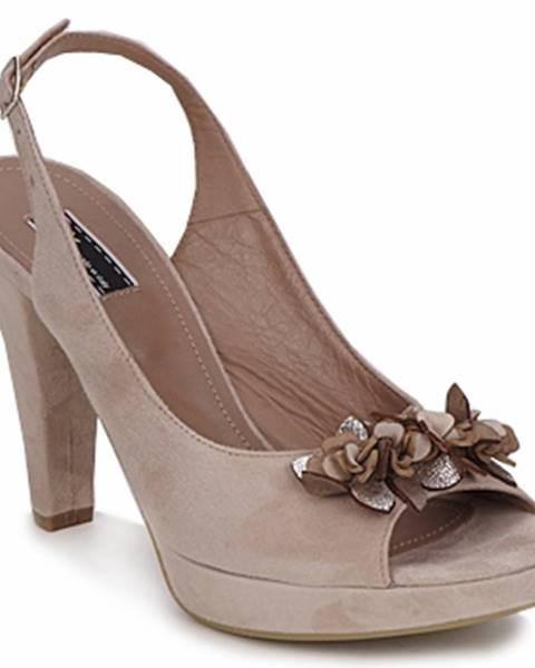 Béžové sandále Vic