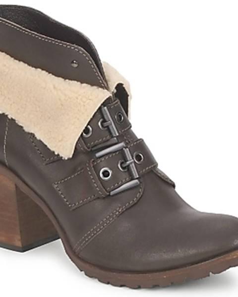 Hnedé topánky Un Matin d'Ete