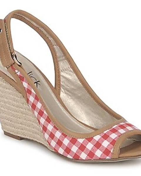 Béžové sandále StylistClick