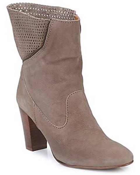 Hnedé topánky Lottusse