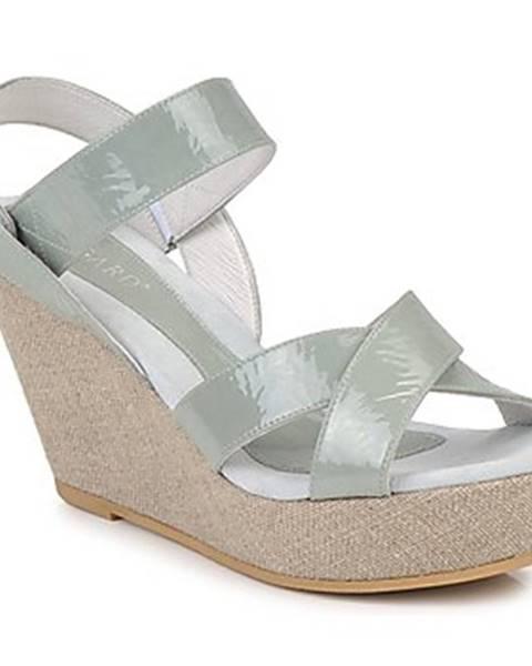 Zelené sandále Regard