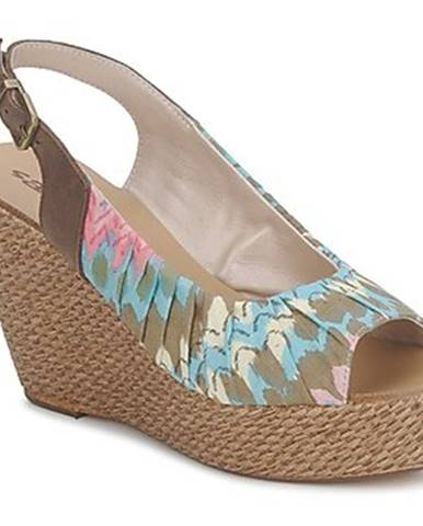 Viacfarebné sandále Sans Interdit