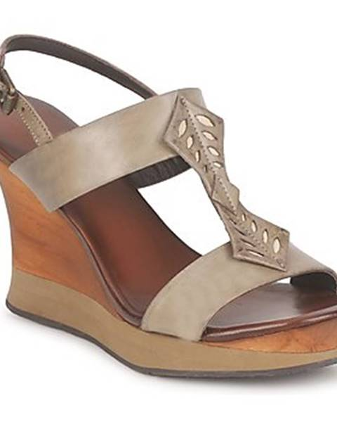 Hnedé sandále Audley