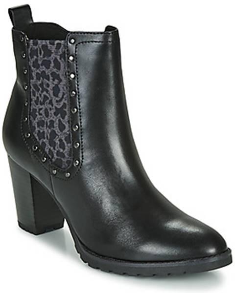 Čierne topánky Caprice