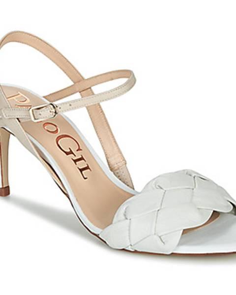 Biele sandále Paco Gil
