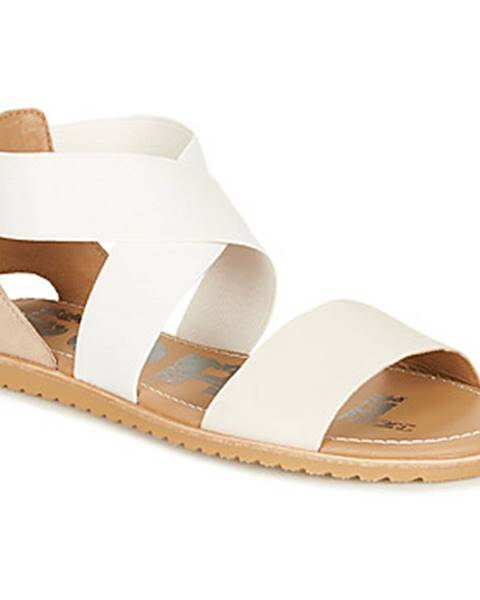 Biele sandále Sorel
