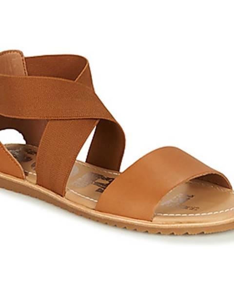 Hnedé sandále Sorel