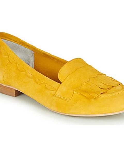 Žlté balerínky Myma