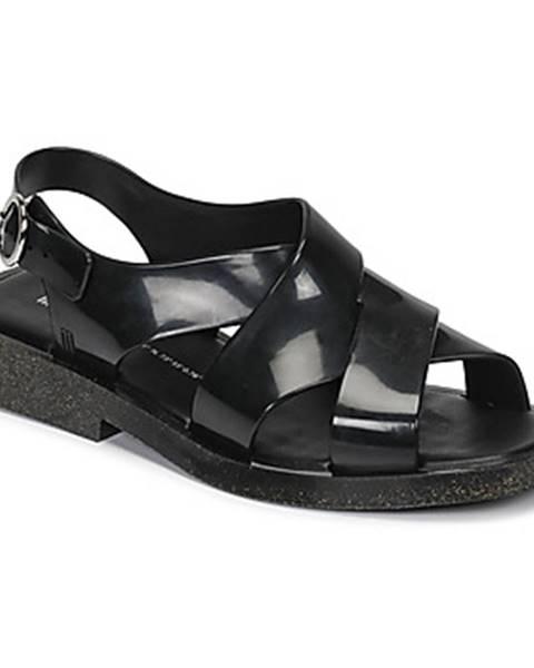 Čierne sandále Melissa