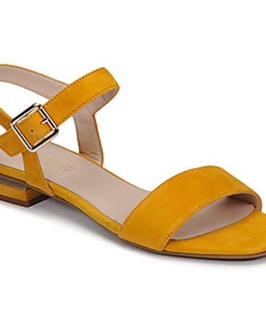 Žlté sandále Fericelli