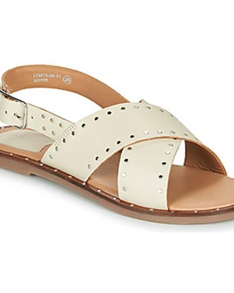 Béžové sandále Kickers