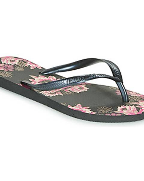 Čierne topánky Havaianas