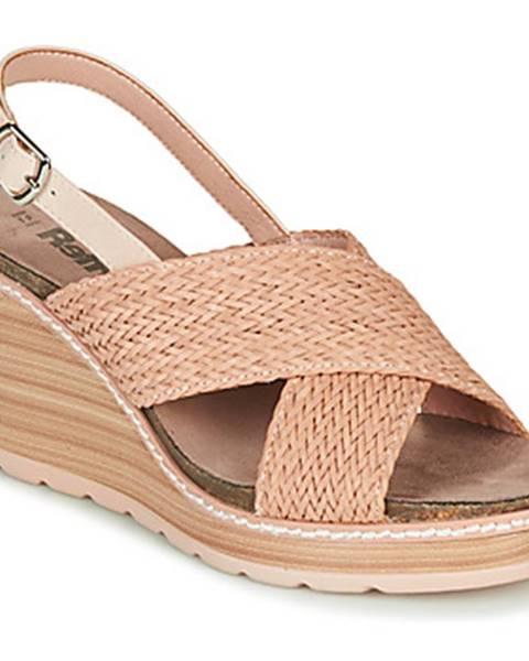 Béžové sandále Refresh