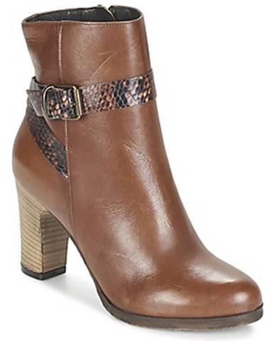 Hnedé topánky Lola Espeleta