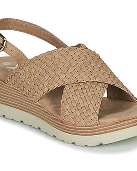 Hnedé sandále Xti