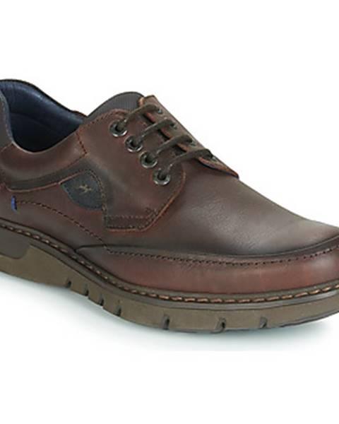 Hnedé topánky Fluchos