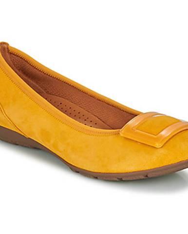 Žlté balerínky Gabor