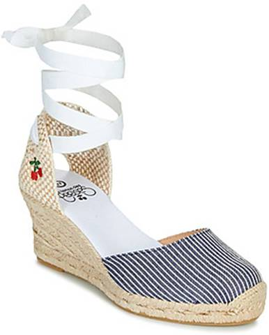 Biele sandále Le Temps des Cerises