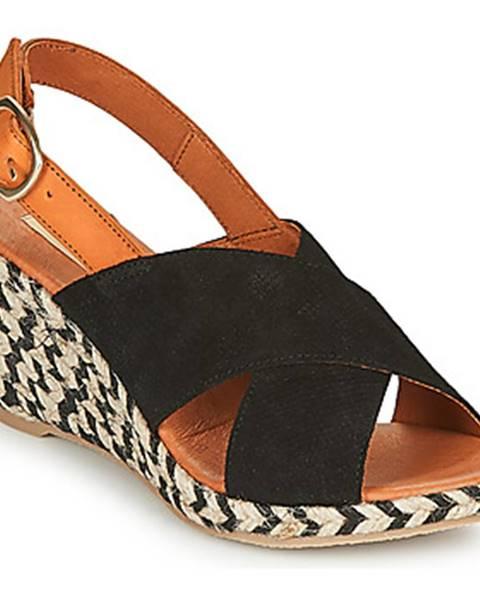 Čierne sandále Pare Gabia