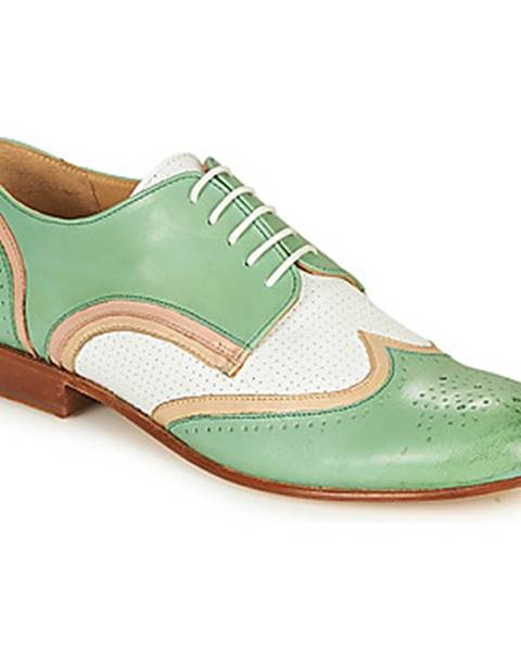 Zelené topánky Melvin   Hamilton