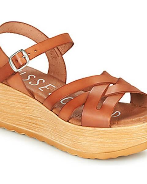 Hnedé sandále Musse   Cloud