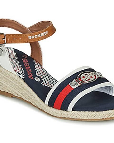 Modré sandále Dockers by Gerli