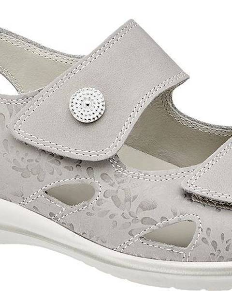 Sivé sandále Medicus
