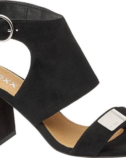 Čierne sandále MEXX