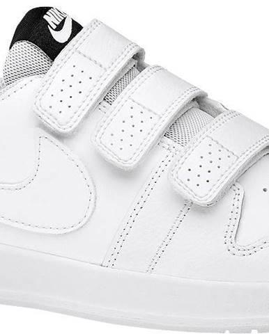 NIKE - Biele tenisky na suchý zips Nike Pico 5
