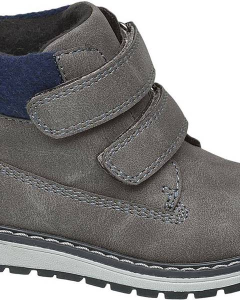 Sivé topánky Bobbi-Shoes