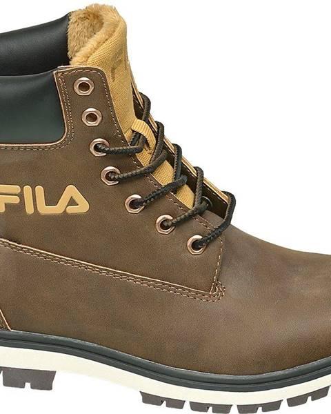 Hnedé topánky Fila