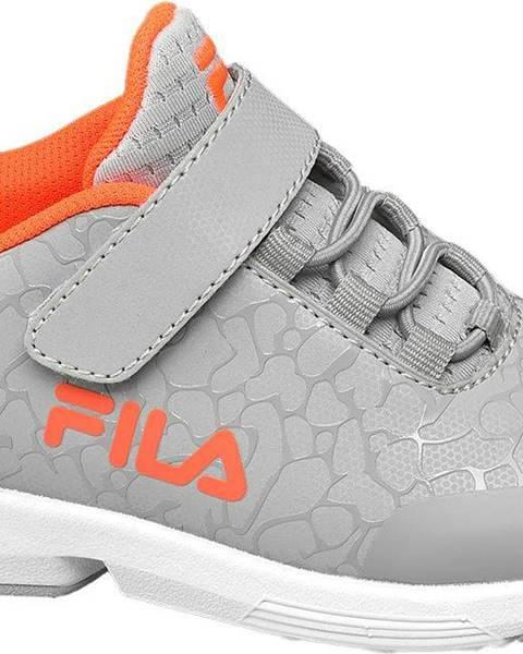Sivé tenisky Fila
