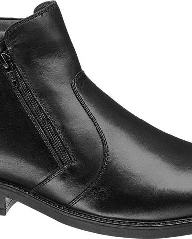 Čierne topánky Claudio Conti