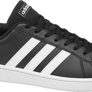 adidas - Čierne tenisky Adidas Grand Court Base