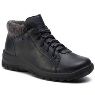 Rieker  Členkové topánky Rieker L7133-14 Materiał tekstylny,koža(useň) lícová