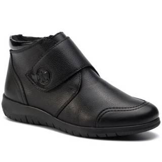 Členkové topánky Rieker N0182-00 koža(useň) lícová,koža ekologická