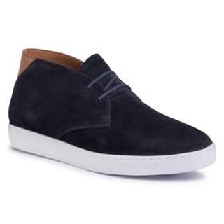 Členkové topánky Gino Rossi MI07-A972-A801-02 Prírodná koža(useň) - Zamš