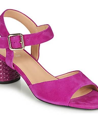 Ružové sandále Geox