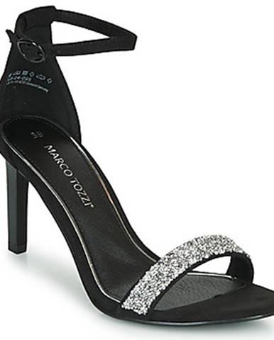Čierne sandále Marco Tozzi